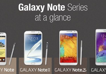 Evolution of the Samsung Galaxy Note 4