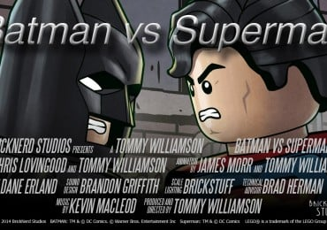 LEGO short, Batman Vs. Superman.