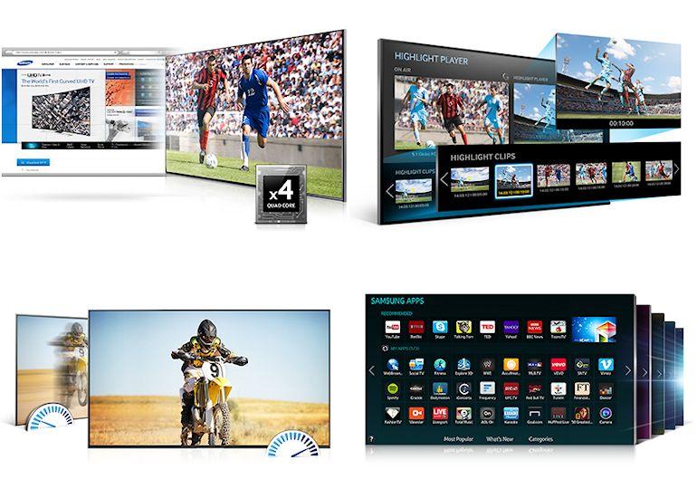 Samsung Series 6 40' LED 3D TV-05