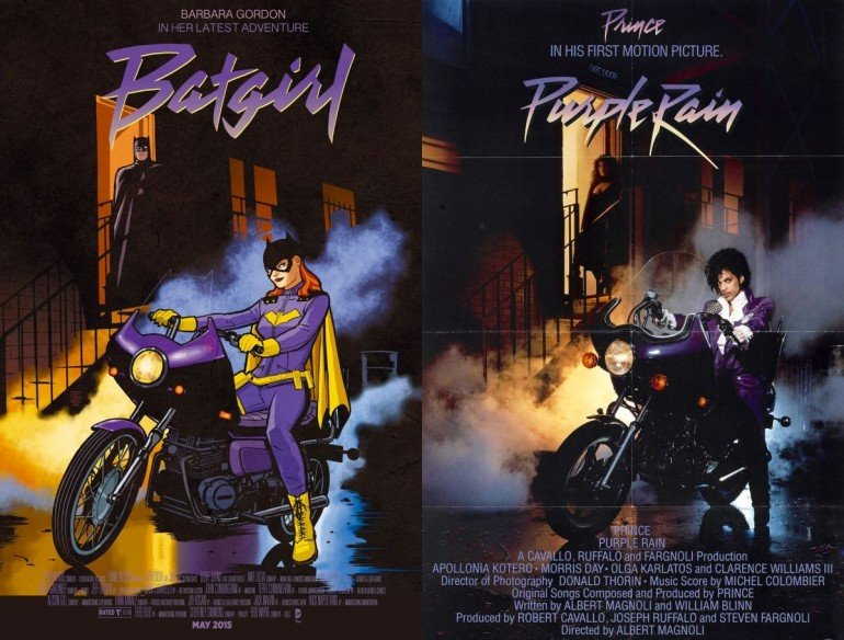 Batgirl-Comic-Purple-Rain-Prince-Movie-Cover