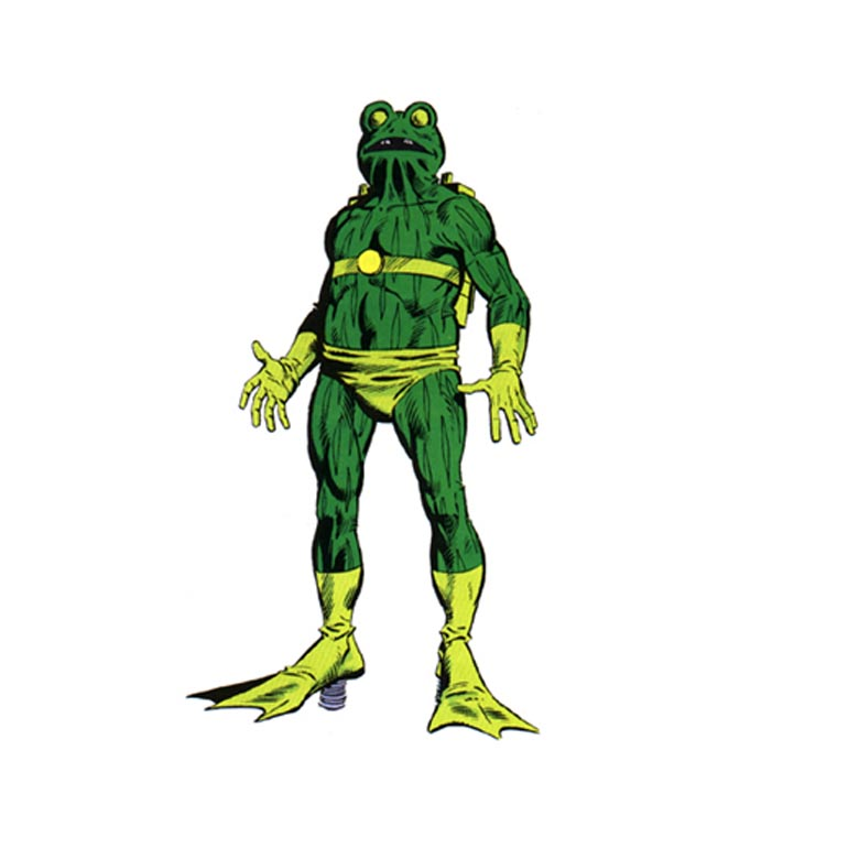 Frogman - The 8 Weirdest Marvel Superheroes