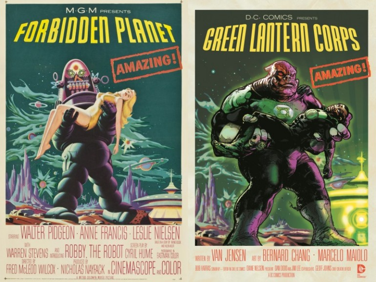 Green-Lantern-Corps-Forbidden-Planet-Movie-Covers