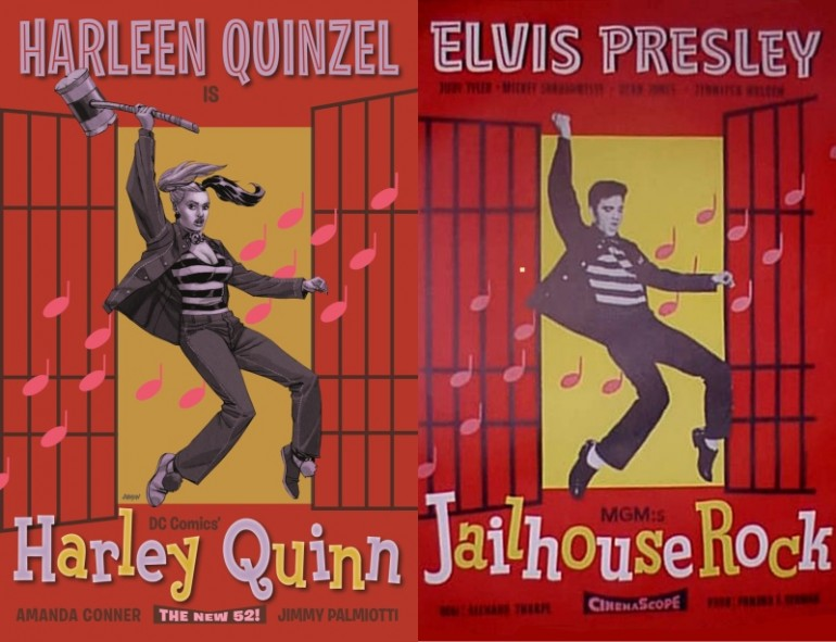 Harley-Quinn-Jailhouse-Rock-Movie-Covers
