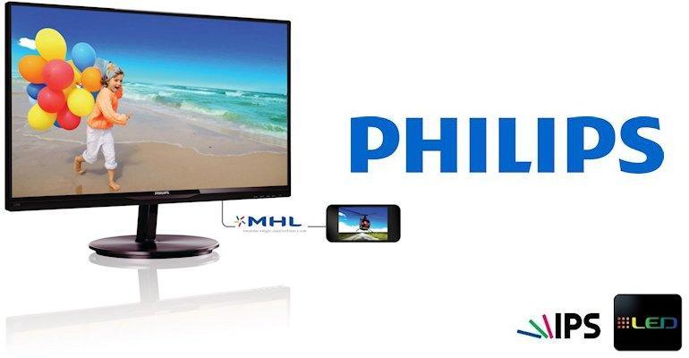 Philips E-Line 234E5-Header