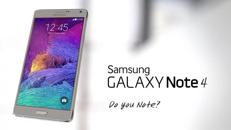 Samsung Galaxy Note 4-Header