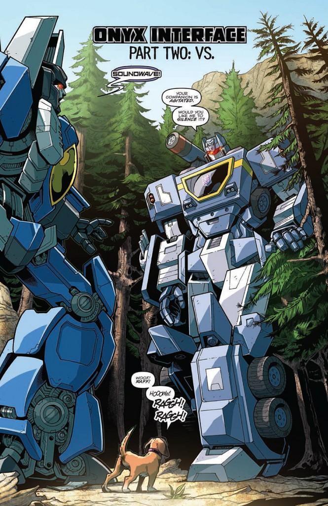 comic book transformers
