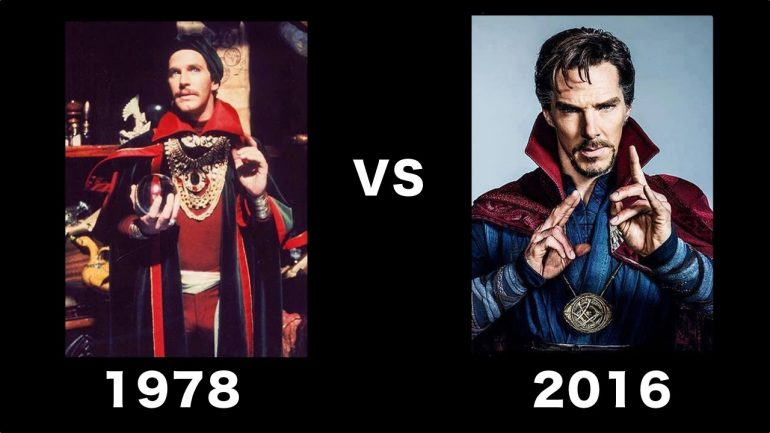 Dr Strange 1978 Movie vs 2016 Dr Strange