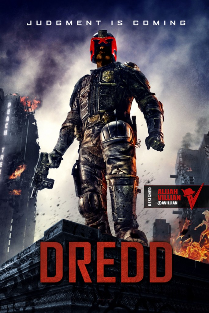 Black Judge Dredd