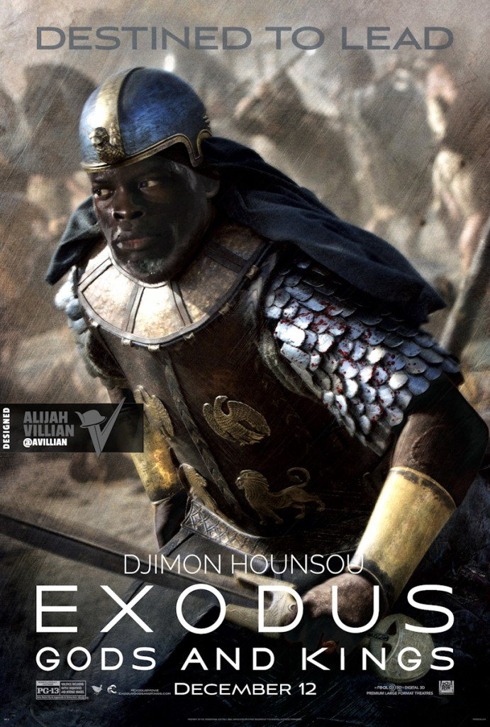 Djimon Hounsou - Exodus Gods and Kings