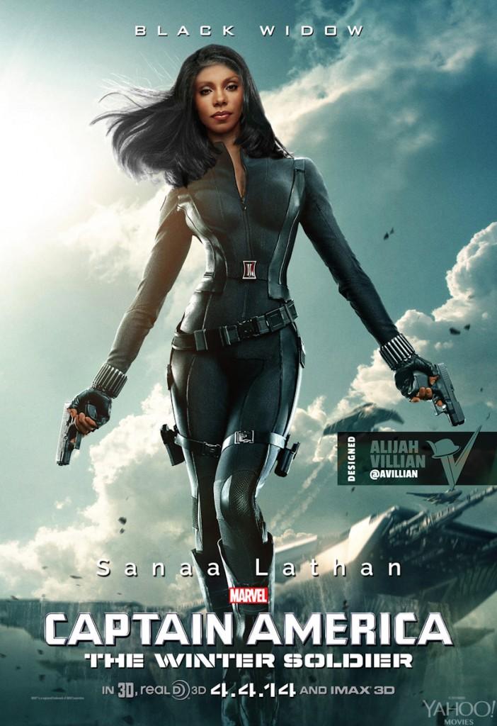 Sanaa Lathan - Black Widow