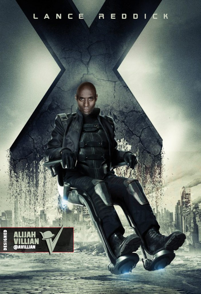 Lance Reddick - Professor X