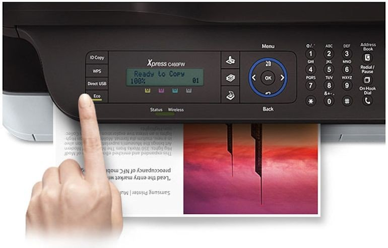 Samsung Multifunction C460FW Printer-02