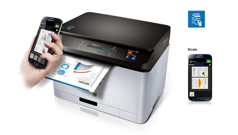 Samsung Multifunction C460FW Printer-03