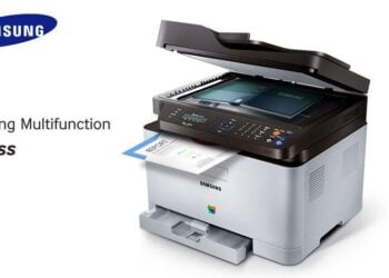 Samsung Multifunction C460FW Printer-Header