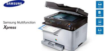 Samsung Multifunction C460FW Printer-Header