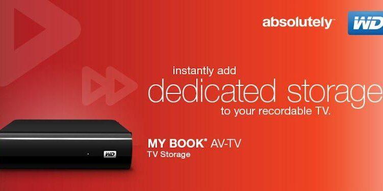 WD My Book AV-TV-Header
