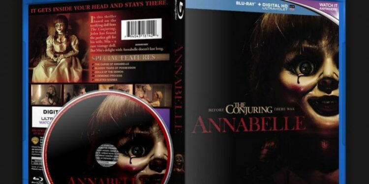 annabelle Annabelle Blu-ray Review Movies