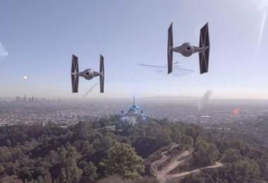 star wars invades earth