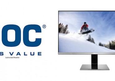 AOC unveils 25″ QHD display with IPS panel