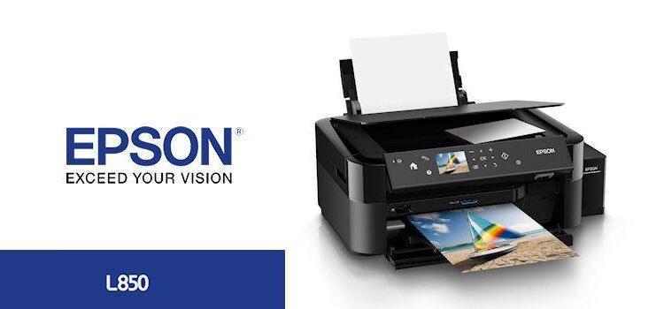 Epson L850 Printer-Header