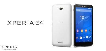 Sony Xperia E4-Header