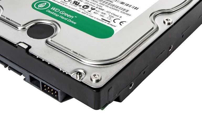 WD Green 2TB HDD - 02