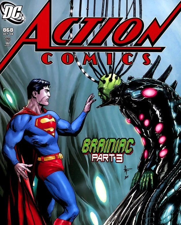 Action Comics Brainiac - 2008