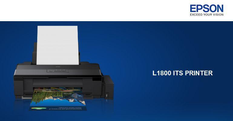 Epson L1800 A3 Photo Printer-Header