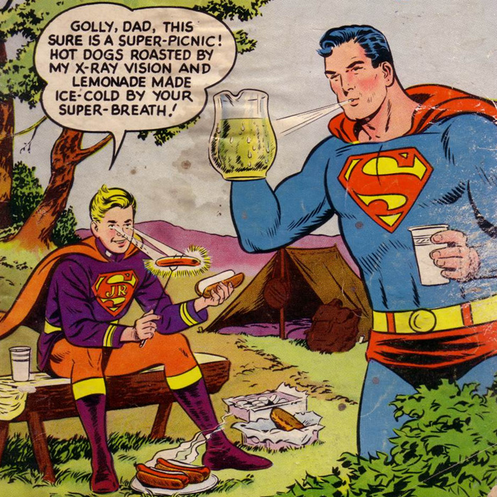 Superman as a Father Adopted son, Johnny Kirk in Action Comics #232 (September 1957)