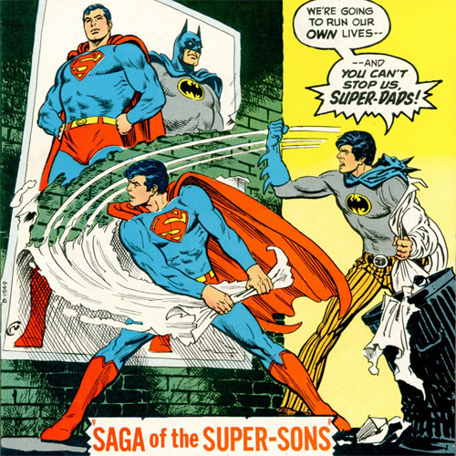Clark Kent Jr, from the Super-Sons team in World's Finest Comics (January 1973)