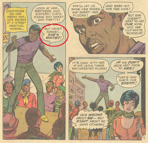 That Time Lois Lane Became a Black Woman 4