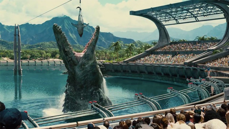 Jurassic World Review - A Popcorn Movie With Dinosaurs