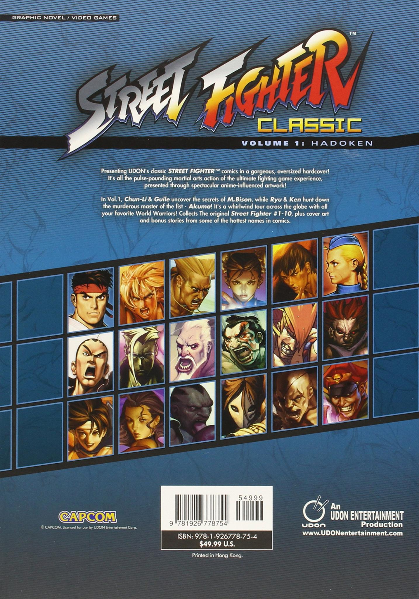Street Fighter Classic Volume 1 Hadoken Review Fortress Of Solitude