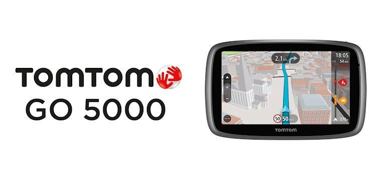 TomTom Go 5000-Header