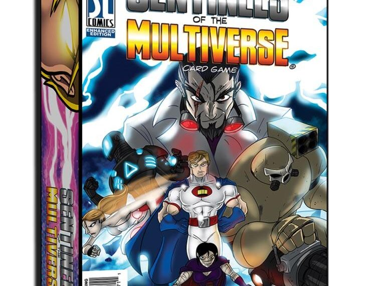 Cover Sentinels of the Multiverse Card Game Review Board Games