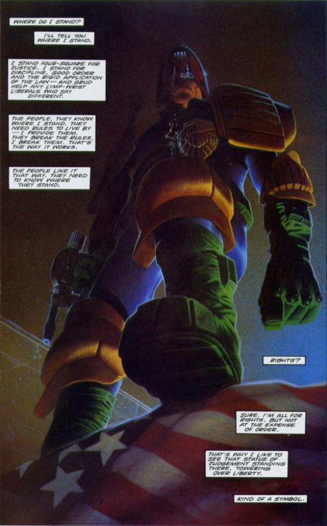Judge Dredd, Comic Book Review