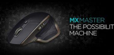 Logitech MX Master Wireless Mouse-Header