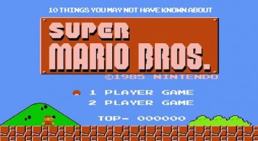 10 Things About Super Mario Bros-Header
