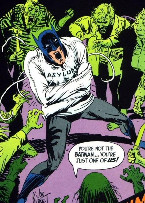 Batman is Crazy
