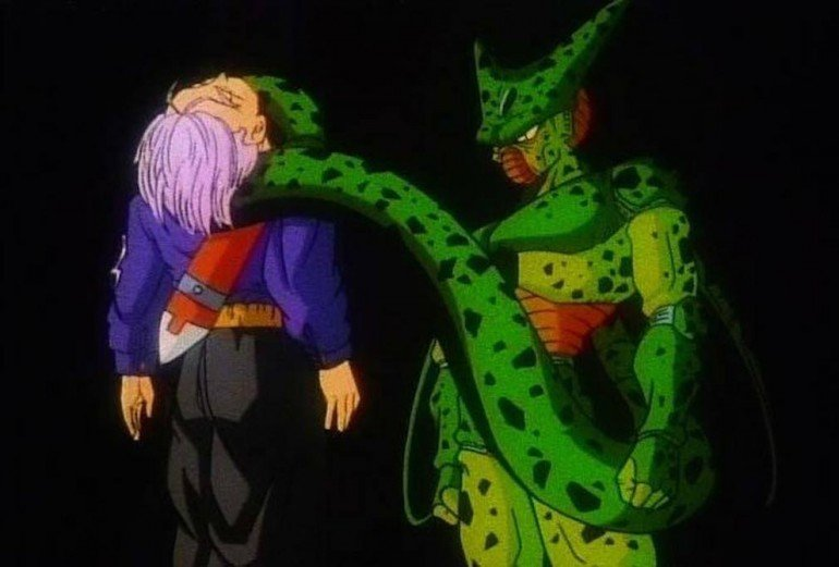 "Perfect"" Cell kills off Future Trunks"
