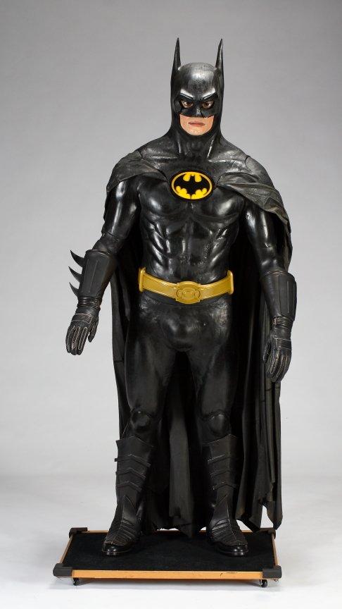 michael jackson batman statue