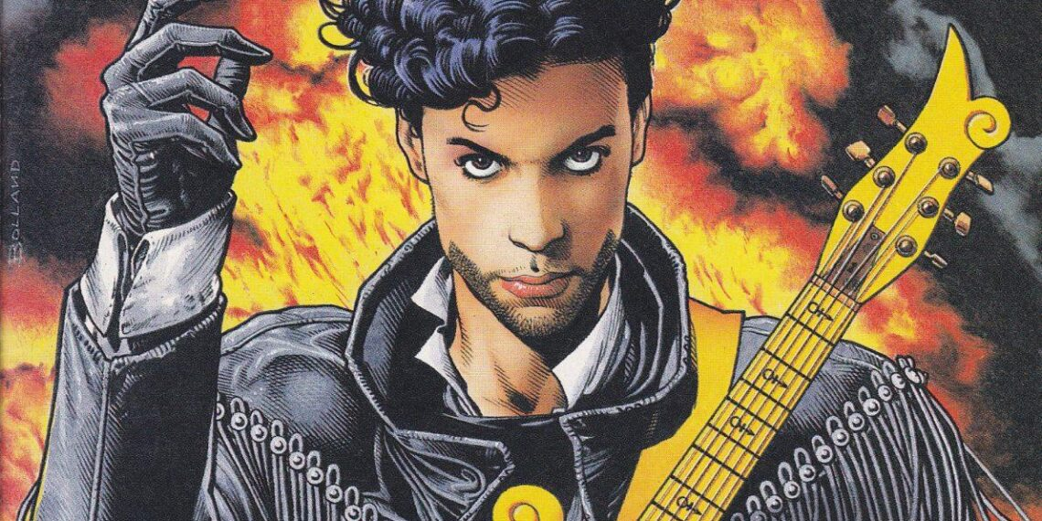 That Time Prince Became a Comic Book Superhero