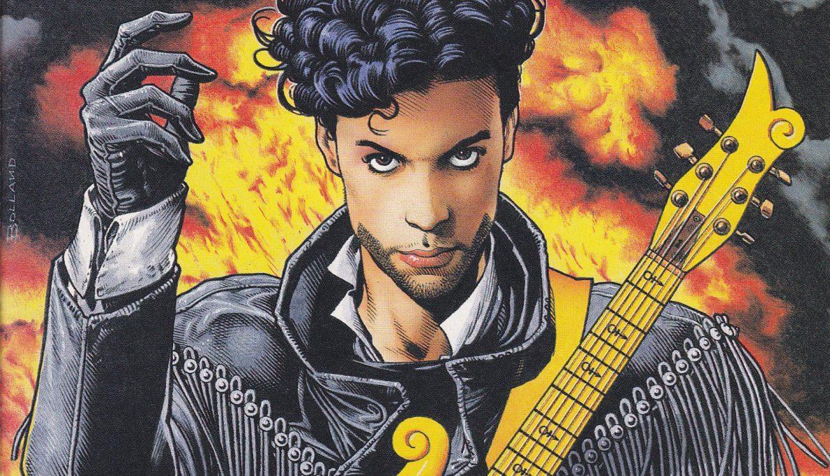 That Time Prince Became a Comic Book Superhero