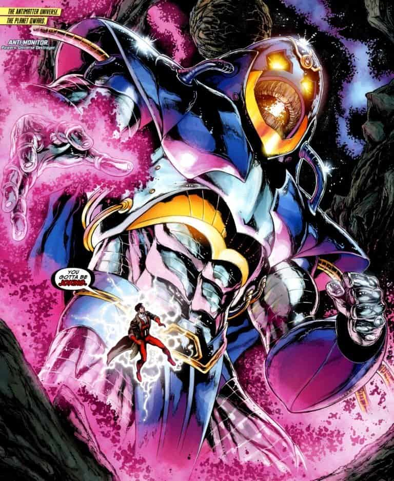 Anti-Monitor Most Powerful DC Characters