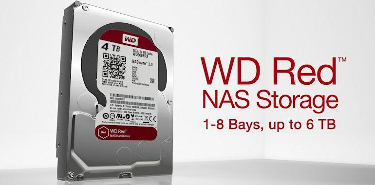 WD Red Pro Drives and NAS Enclosure - Header