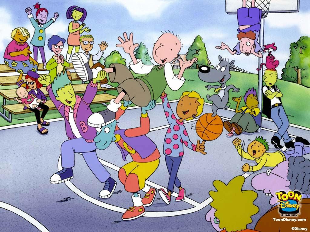 Animated TV show doug