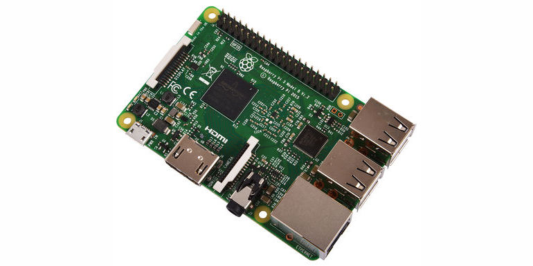 Raspberry Pi 3 Launched in SA-01