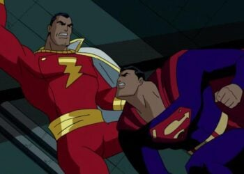 Justice League Unlimited Shazam vs Superman