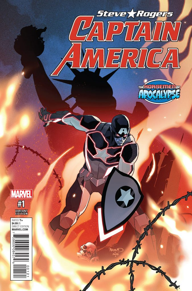 Captain America Steve Rogers #1 preview 3