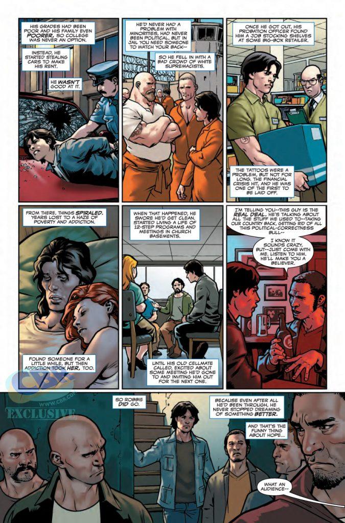 Captain America Steve Rogers #1 preview 3